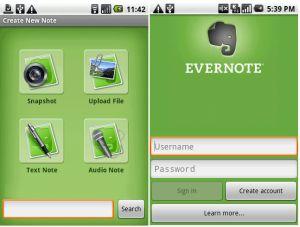 Evernote - narzędzie sporządzające notatki